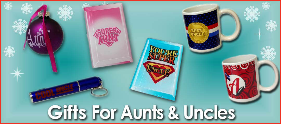 Quality Holiday Shop Gifts for Aunts and Uncles