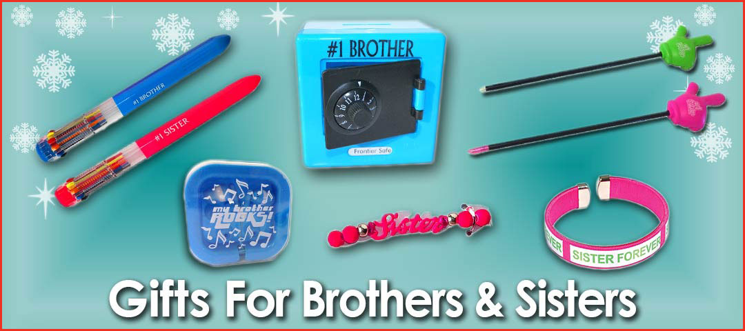 Quality Holiday Shop Gifts for Brothers - Sisters