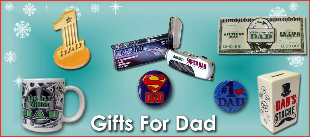 Quality Holiday Shop Gifts for Dad