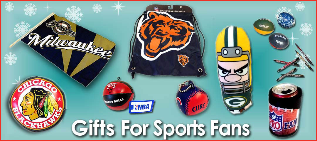 Quality Holiday Shop Gifts for Sports Fans