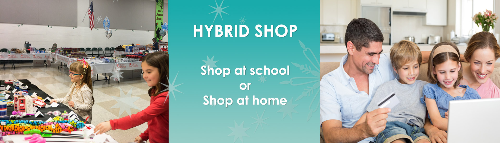 Hybrid Santa Holiday Shop