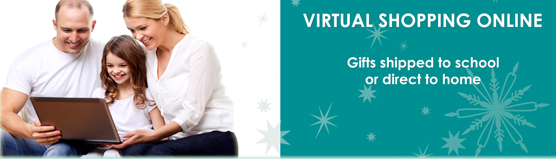Virtual Online Holiday Gift Santa Shop
