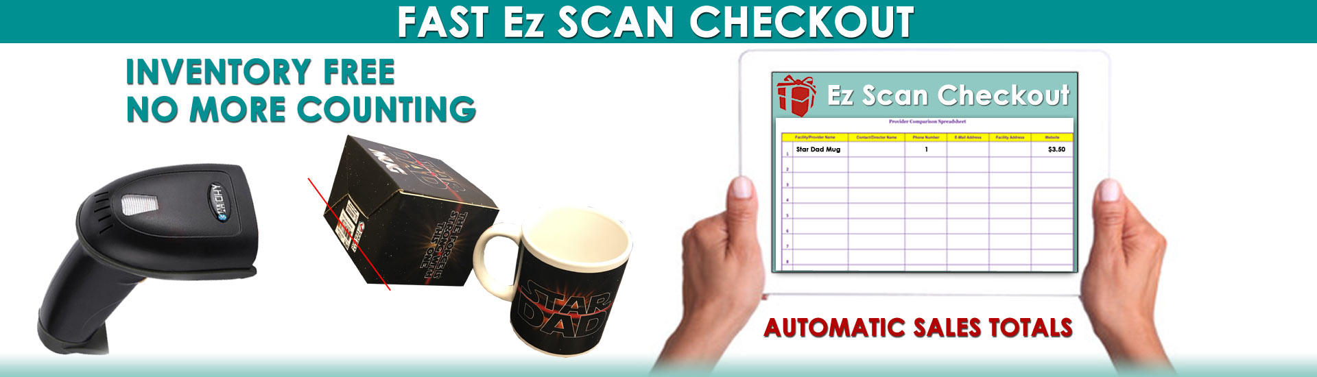 Ez Scan - Barcode Scanner School Holiday Shop