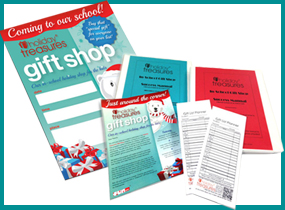 Free Holiday Shop Promotional Supplies
